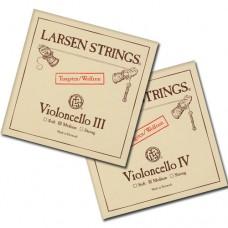 Akcija žice za violončelo Larsen G tungsten + Larsen C tungsten