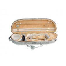 Kutija za violinu 4/4 zaobljena laka