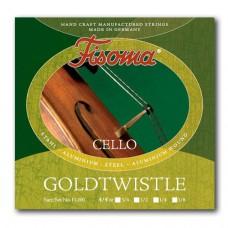 Žice za violončelo Fisoma Goldtwistle 4/4 set