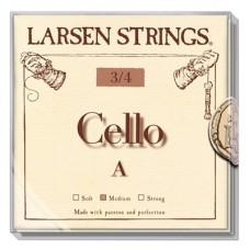 Larsen Fractional 3/4 žice za violončelo set