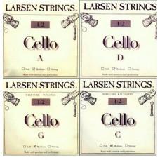 Žice za violončelo Larsen Fractional 1/2 set