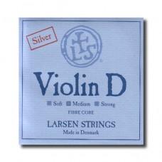 Žica za violinu Larsen D silver 4/4