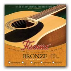 Žice za akustičnu gitaru Fisoma Bronze set