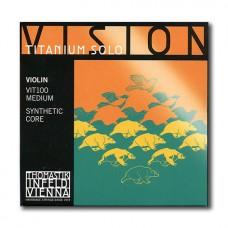 Žice za violinu Thomastik Vision Titanium Solo set